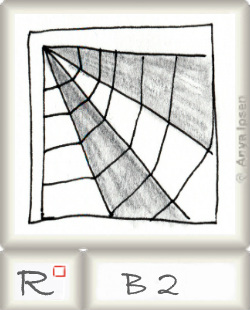 Reticulum  o B2 by Zentangle®, presented by www.musterquelle.de