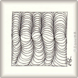 Zentangle-Pattern 'Mr.E' by Shawn Hayden CZT, presented by www.musterquelle.de